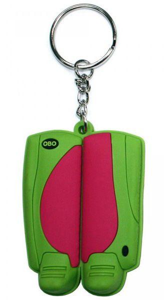 Dit is een toffe sleutelhanger van obo voor de échte hockeyfans. deze kleurrijke sleutelhanger heeft de vorm ...