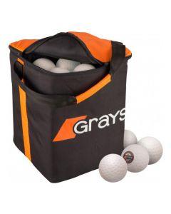 Grays Match 60 Hockeyballen incl tas