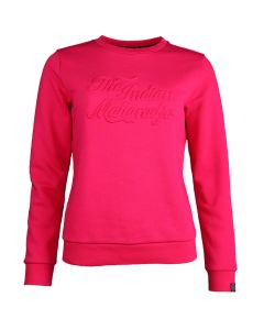 Indian Maharadja Dames Crew Emboss Sweater
